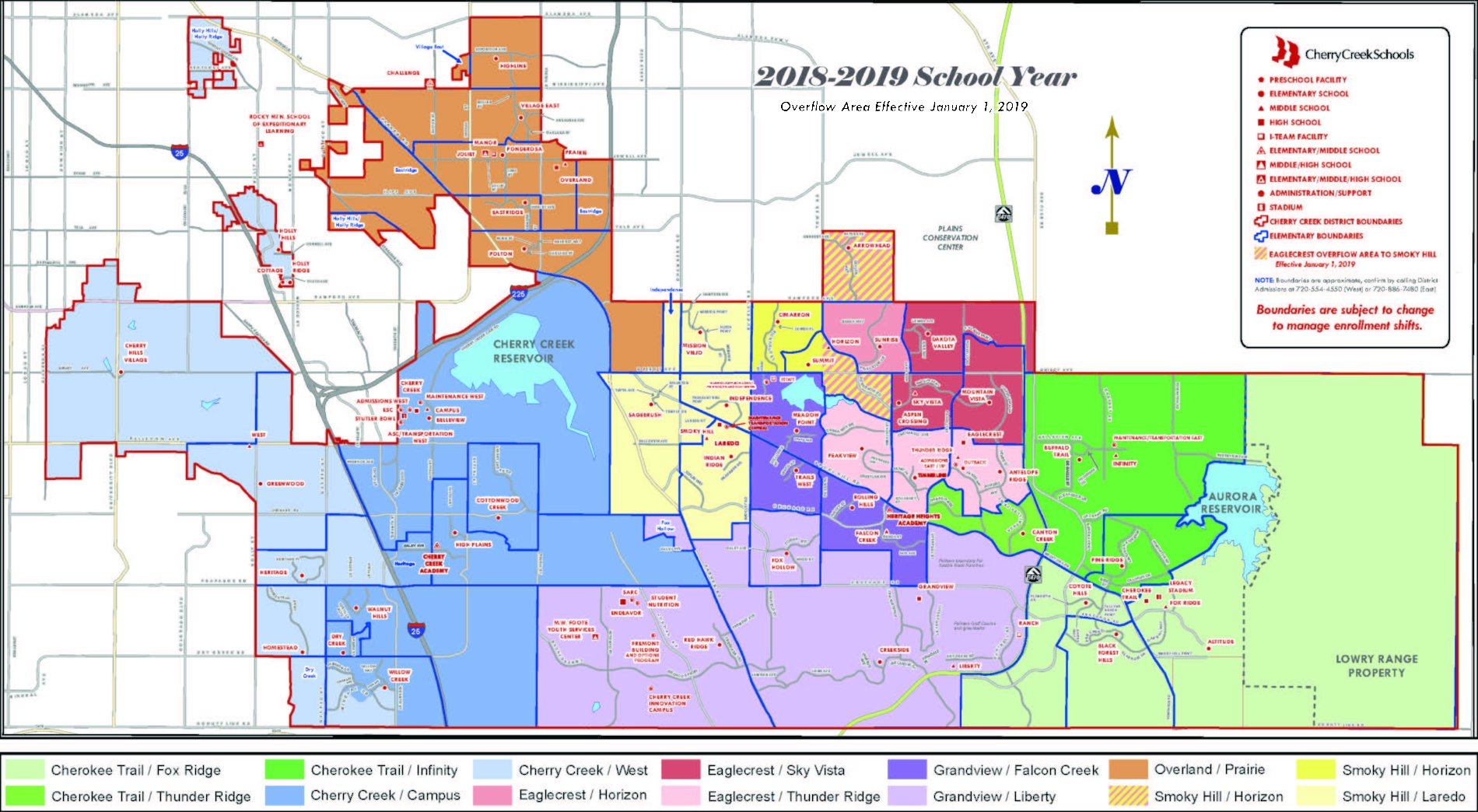 Cherry Creek School District Map Cherry Creek School District Map | Cherry Creek Education Association